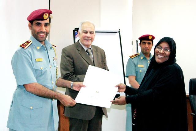 تخريج دورة أخلاقيات المهنة الأمنية في إقامة العين عبر الإمارات حوادث و قضايا البيان
