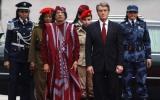 الصورة: تقارير: القذافي اغتصب  بعض حارساته