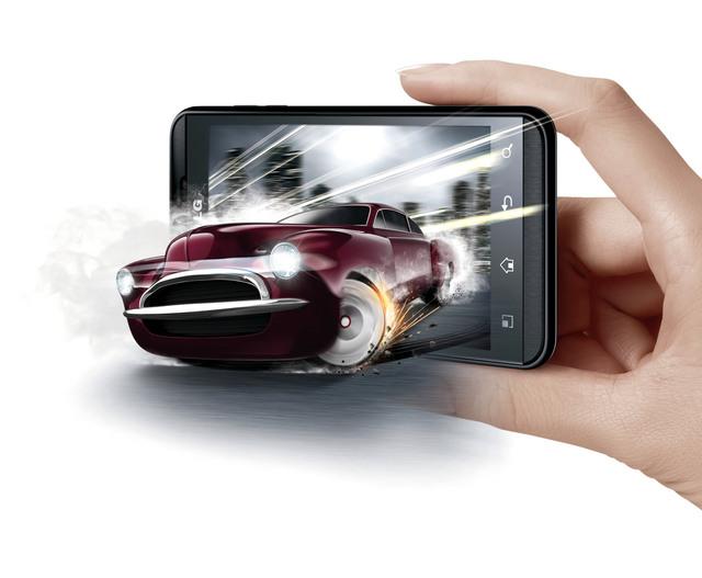 8a686f092 هاتف ثلاثي الأبعاد بدون نظارات يتفوق على الكاميرات الرقمية - البيان