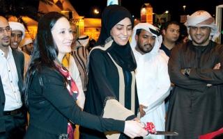 الصورة: الصورة: افتتاح الجناح اللبناني في القرية العالمية رسمياً