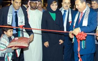 الصورة: الصورة: جناح فلسطين يتلألأ في اطلالته الأولى بالقرية العالمية