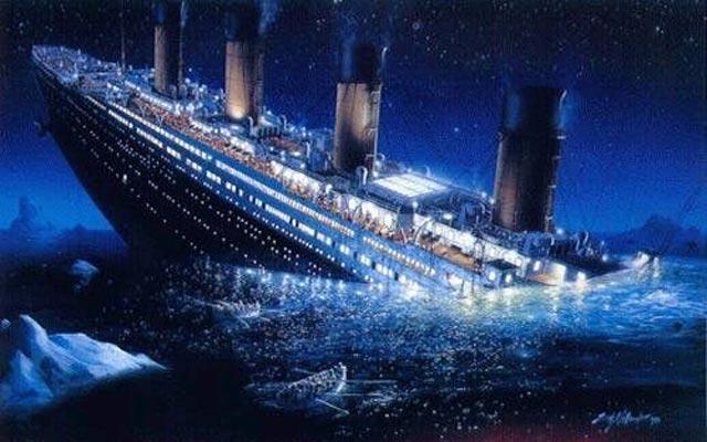"""تايتانك ؛ السفينة التي لا تغرق """"ترقد في قاع المحيط""""!! Image"""