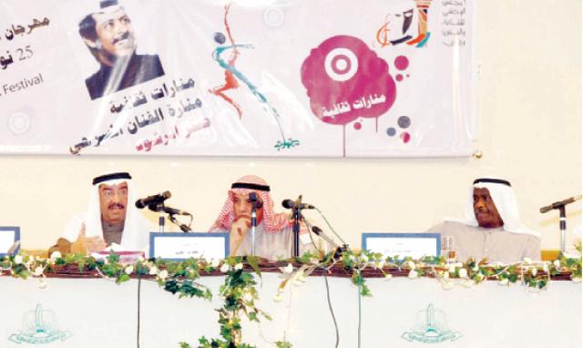 الصورة : صقر الرشود.. مبدع لا يغيب بريق إبداعاته ومنجزاته عن مختلف المحافل والفعاليات الثقافية