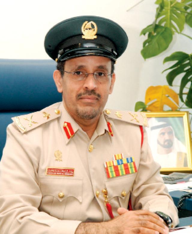 الصورة : طارش المنصوري: القائد العام  لشرطة دبي وجه باستحداث قسم  الشؤون النسائية بعد تزايد الإقبال