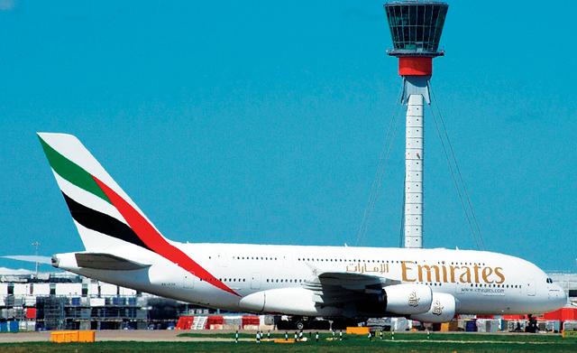 الصورة : طيران الإمارات تواصل نجاحاتها في السوق البريطانية