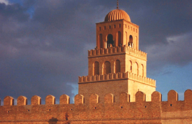 الصورة : الجامع الكبير في القيروان