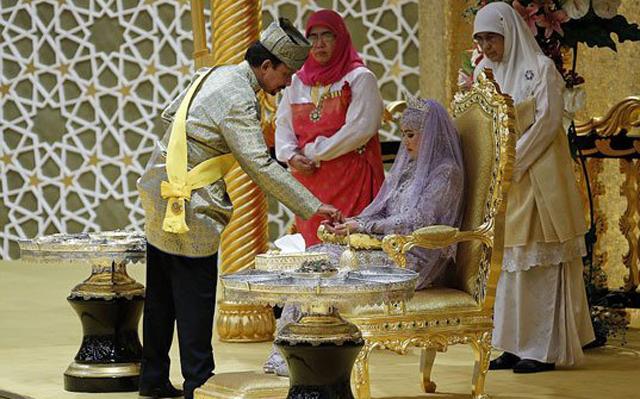بالفيديو والصور حفل زفاف ابنة سلطان بروناي أكثر الرجال ثراء في العالم فكر وفن مرايا البيان