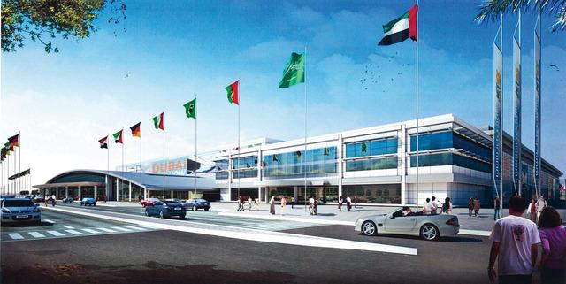 الصورة : دبي وورلد سنترال الموقع الجديد لمعرض الطيران الخاص  من المصدر