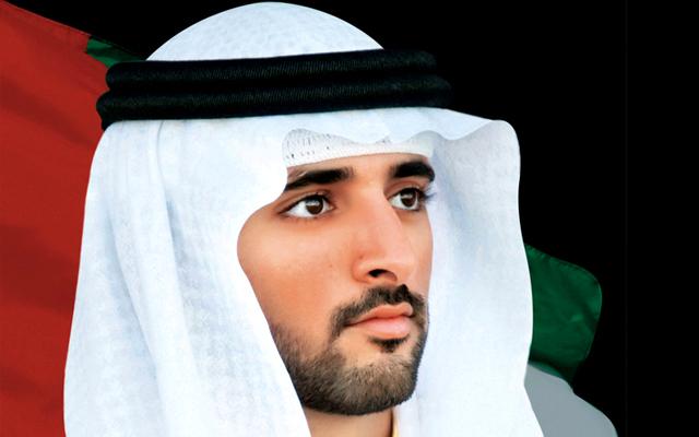 الصورة : حمدان بن محمد بن راشد آل مكتوم