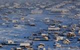 الصورة: أبرد قرية في العالم حرارتها 71 درجة تحت الصفر