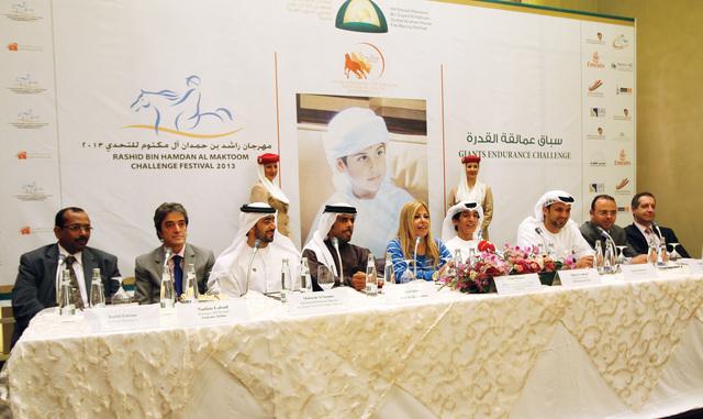 المتحدثون خلال المؤتمر الصحافىتصوير  مجدي إسكندر