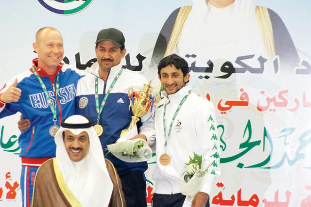 الصورة : جمعة آل مكتوم يتوج ببرونزية الجائزة الكبرى من المصدر