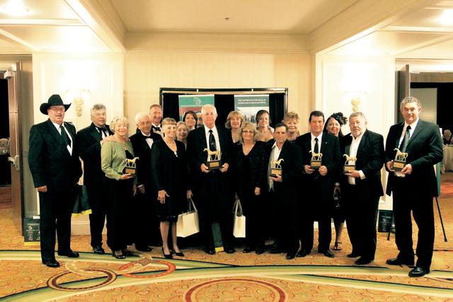 الصورة : الفائزون بجوائز الدارلي أوورد في العام الماضي من المصدر