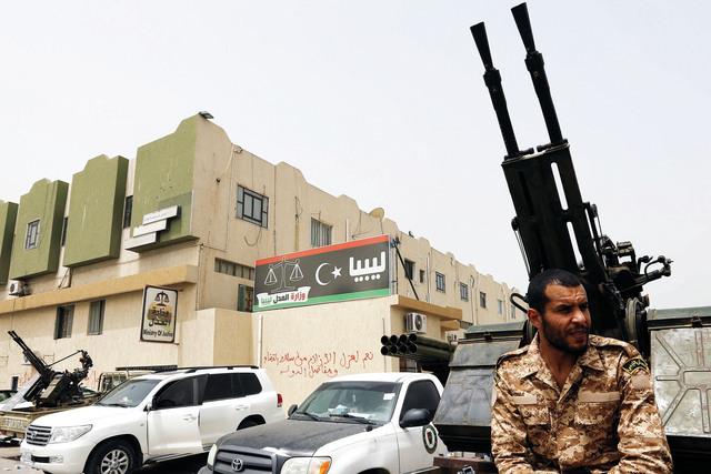 مقر وزارة العدل الليبية تحت سيطرة المسلحينأ.ف.ب