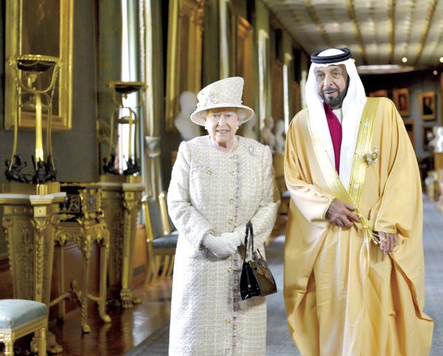 .. وسموه في حديث مع الملكة وام