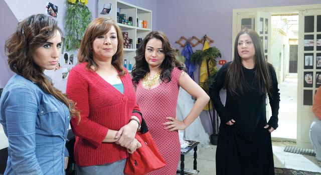 راندا البحيري وانتصار في فيلم  «بوسي كات»  من المصدر
