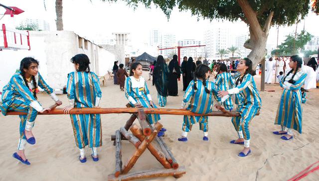 الألعاب الشعبية إبداع داخل البيئة ملاحق رمضان خماسيات تراثية البيان