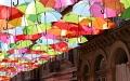 الصورة: الصورة: شارع المظلات الملونة