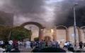 الصورة: الصورة: انصار لمرسي يحرقون كنيسة بوسط مصر