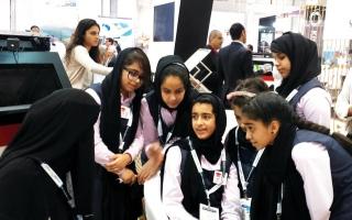الصورة: برنامج محمد بن راشد للتعلم الذكي يعد قادة المستقبل