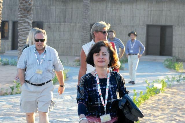 الصورة : زيارات الوفود الإعلامية للقرى التراثية والثقافية