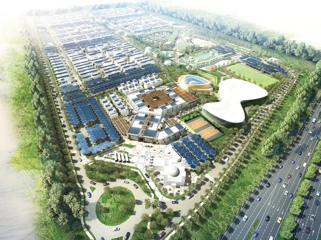 الصورة : مدينة دبي المستدامة