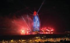 """الصورة: الصورة: احتفالية """"برج العرب"""" بإكسبو 2020 واليوم الوطني الـ42"""