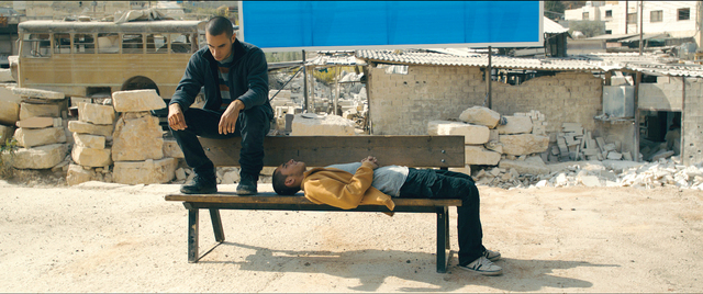 الصورة : مشهد من فيلم «عمر»من المصدر