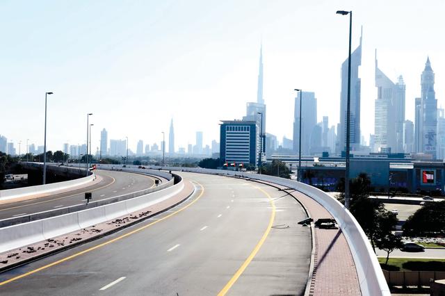 الصورة : جسور المركز التجاري جاهزة للحركة المرورية  من المصدر