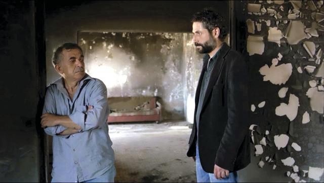 مشهد من الفيلم القصير «عكر»