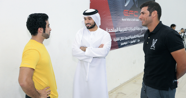 ماجد بن محمد مع سعود عبد العزيز الغريرمن المصدر