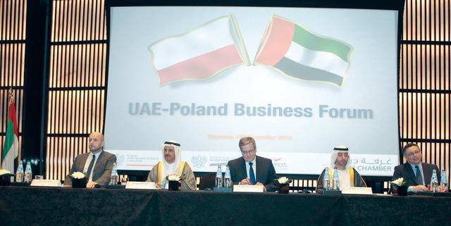 المنصوري ورئيس بولندا والشيراوي خلال الملتقي    من المصدر