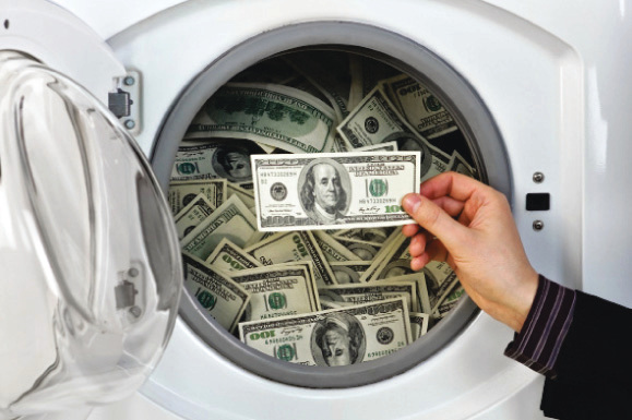 الصورة : مخاطر كبيرة تحيط بعمليات غسل الأموال البيان