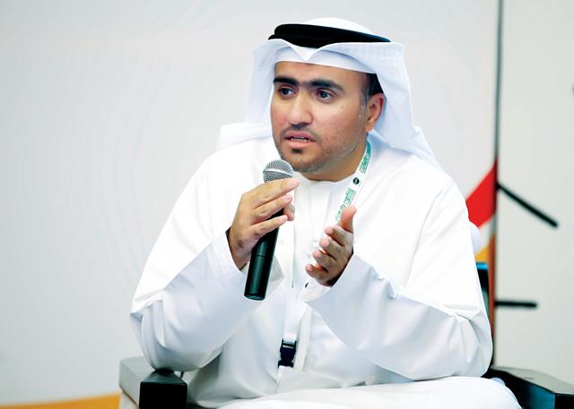 الصورة : سلطان علي الطاهر رئيس قسم التفتيش الغذائي في بلدية دبي