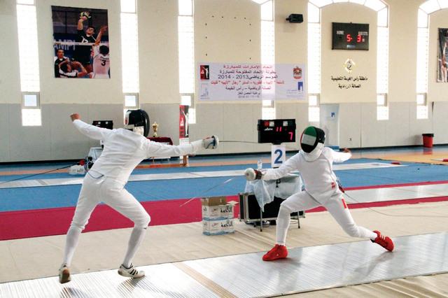 الصورة : جانب من منافسات البطولة