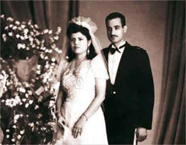 صورة زفاف الزعيم جمال عبد الناصر تجتاح مواقع التواصل البيان