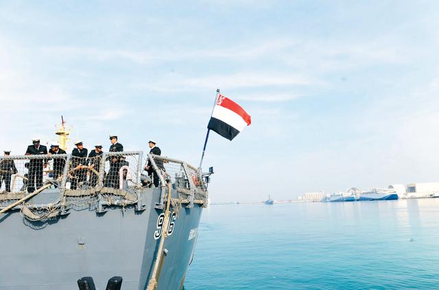 الصورة : يشتمل التمرين على أحدث نظم التدريب العسكري المتقدم