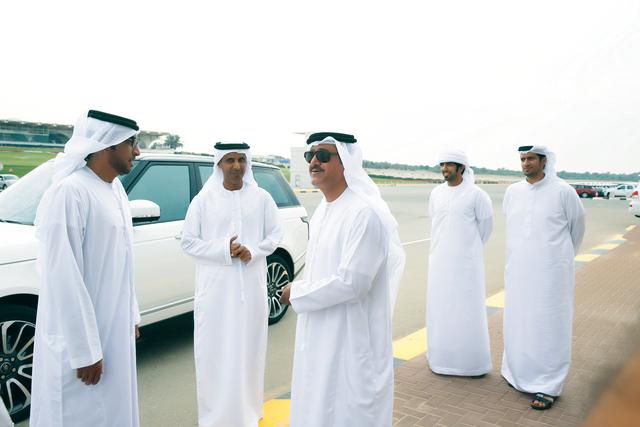 الصورة : سلطان بن حمدان خلال تفقده آخر الاستعدادات    البيان