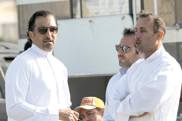 الصورة : محمد الحبتور مع عمرو زيدان