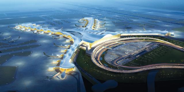 مشروع تطويري ضخم في مطار أبوظبي من المصدر