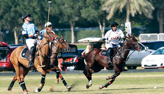 ميثاء بنت محمد قادت فريقها للفوز على إدريس والتأهل إلى المربع الذهبي تصوير:  زافير ويلسون