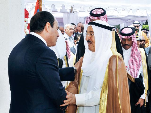 ..ويتلقى التهنئة من أمير الكويت الشيخ صباح الأحمد الصباحأ.ب