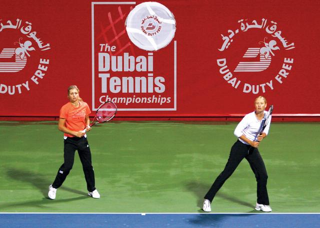 الصورة : جهود كبيرة لتطوير رياضة التنس في الدولة         البيان