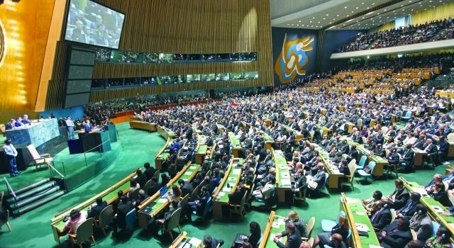 الصورة : الجمعية العامة للأمم المتحدة يمكنها تعزيز التوصل لاتفاق سلام فلسطيني إسرائيلي