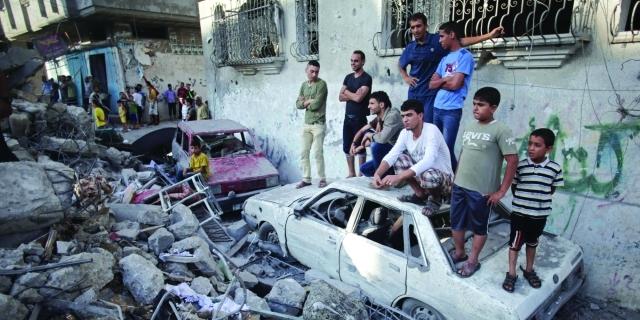 الصورة : إسرائيل فشلت بتحقيق نصر عسكري في غزة رغم الدمار أرشيفية