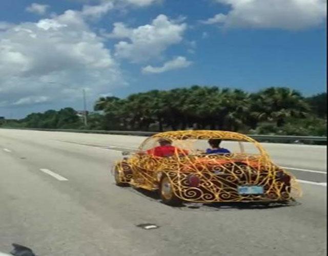 شاهد..أغرب سيارة في العالم