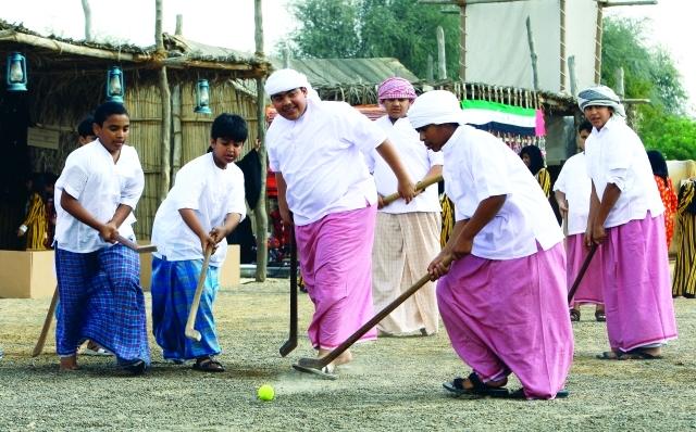 الألعاب الشعبية الإماراتية ذاكرة التراث ووجدانه الحي فكر وفن مرايا البيان