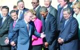 الصورة: استعراضات بوتين تستفز قادة العالم