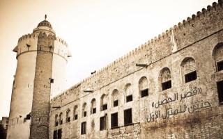 الصورة: الصورة: «قصر الحصن» حنينُ إلى المنزل الأوّل
