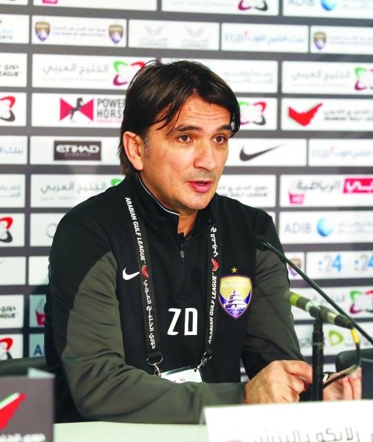 الصورة : زلاتكو يتحدث في المؤتمر الصحافي